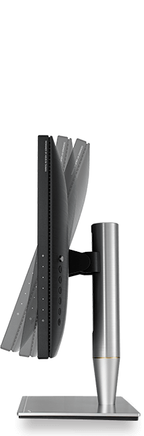 With ProArt PA27AC, a comfortable viewing position is always within reach thanks to its slim profile and ergonomically-designed stand with tilt, swivel, pivot, and height adjustments.