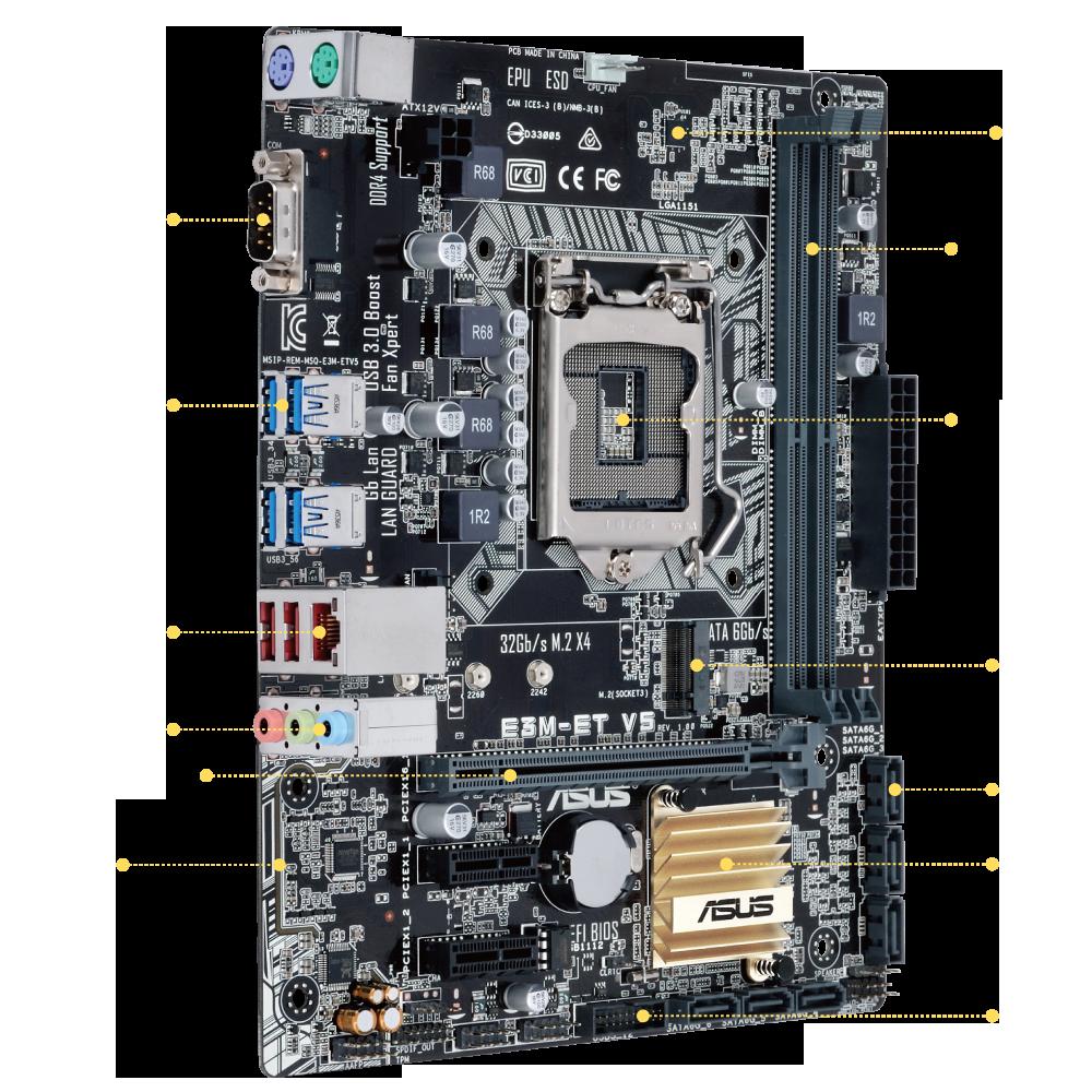 ASUS E3M-ET V5/V5 64 Bit