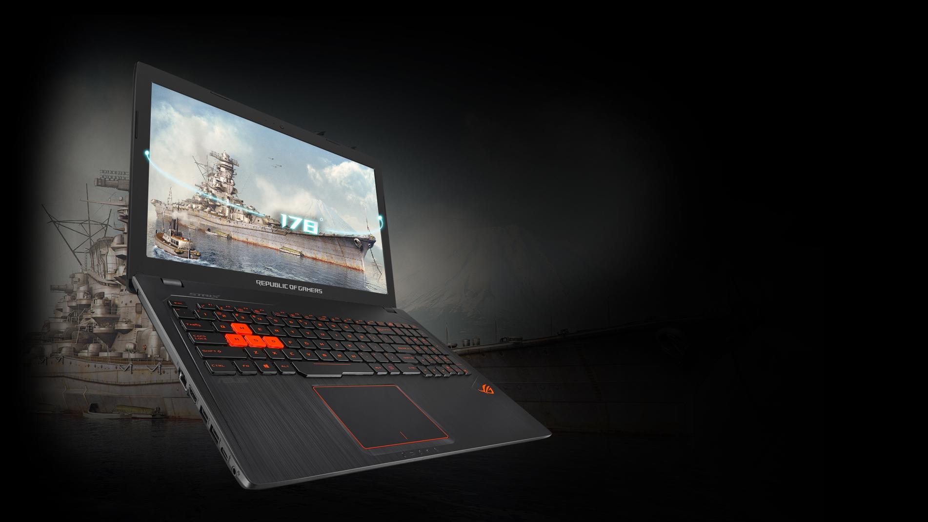 Rog Gl553vw Laptops Asus Usa Gl553 Ve Breathtaking Visuals Strix