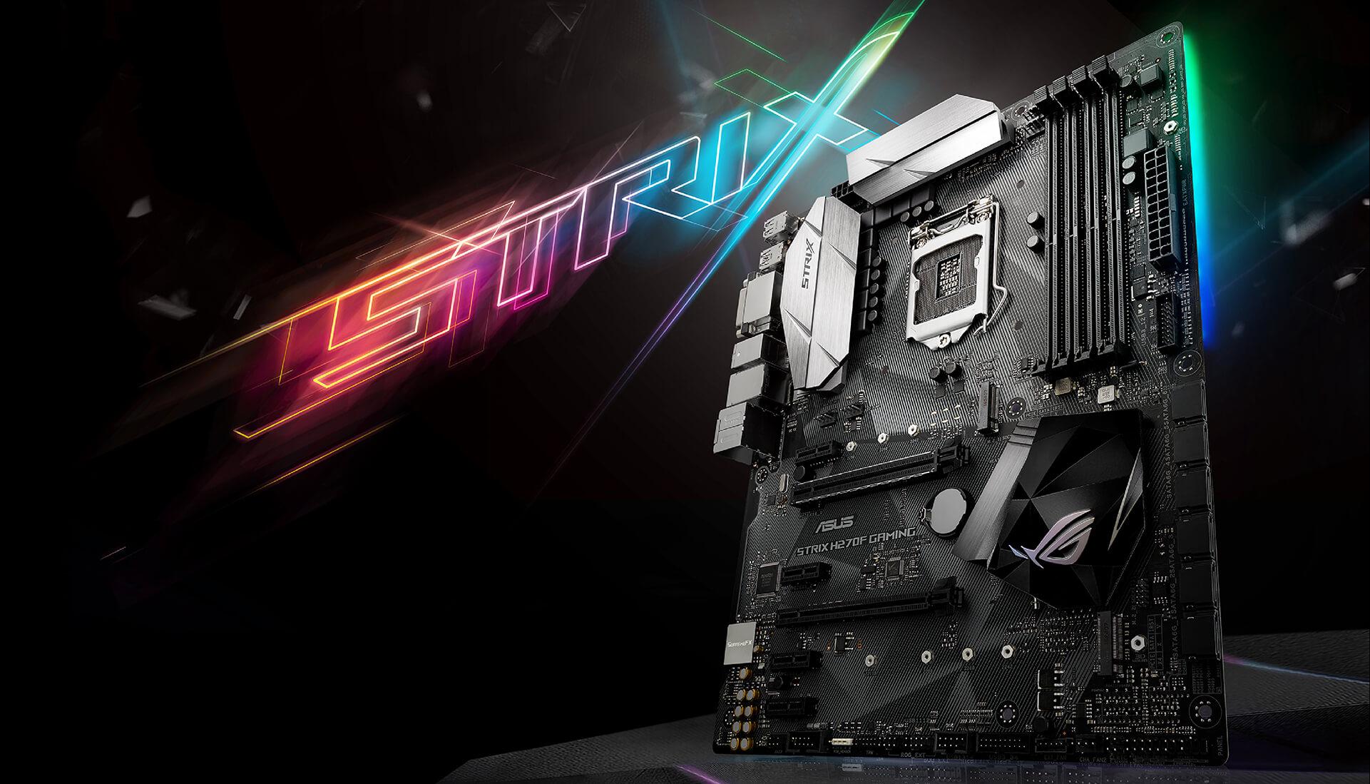 Asus Strix H270F Gaming Intel,1151 Strix H270F Gaming, Intel, 90MB0S70-M0EAY0 , Intel Celeron, Intel Pentium, DDR4-SDRAM, DIMM, Strix H270F Gaming, Intel, LGA 1151 Socket H4