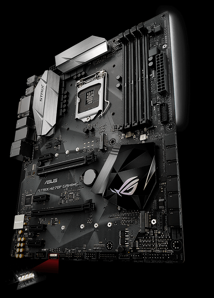 Rog Strix H270f Gaming Motherboards Asus Usa