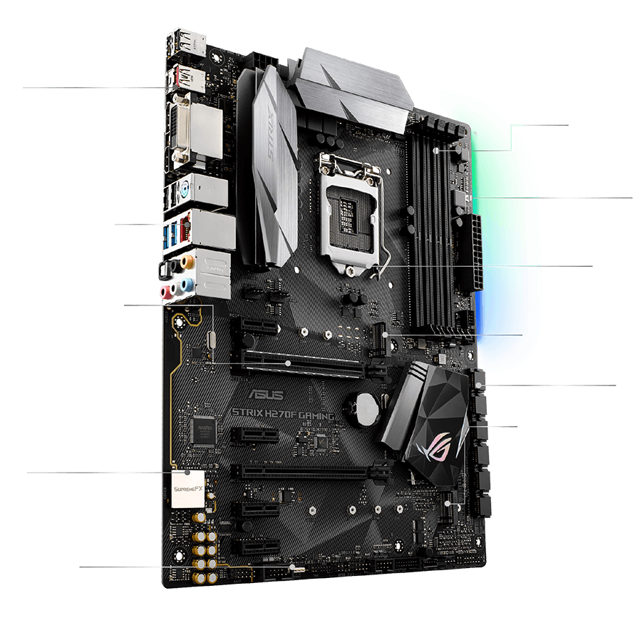 ROG STRIX H270F GAMING | Motherboards | ASUS Global