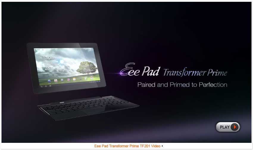 eee pad transformer prime tf201 tablets asus global rh asus com Eee Pad Tablet Eee Pad Slider SL101