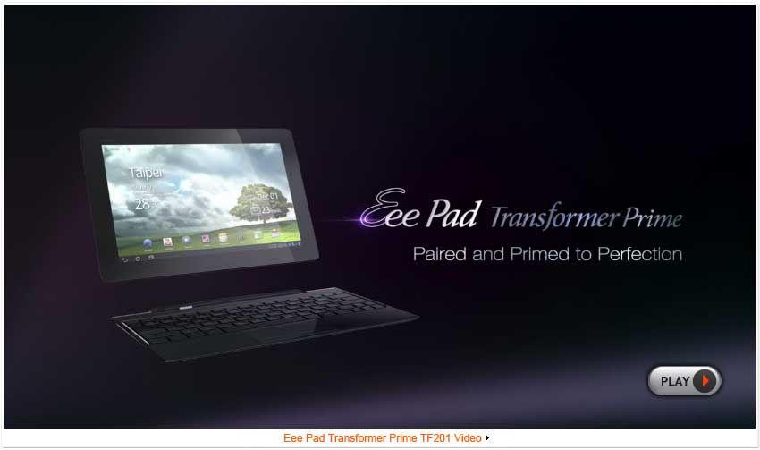 ASUS Eee Pad Transformer Prime TF201