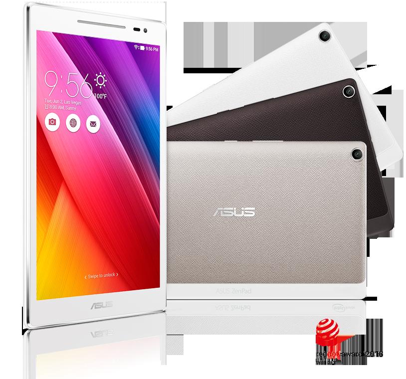 Z380M-WH16 ZenPad 8.0 [タブレットPC本体] (エイスース) (8型 タブレット) ASUS ホワイト (Z380MWH16)