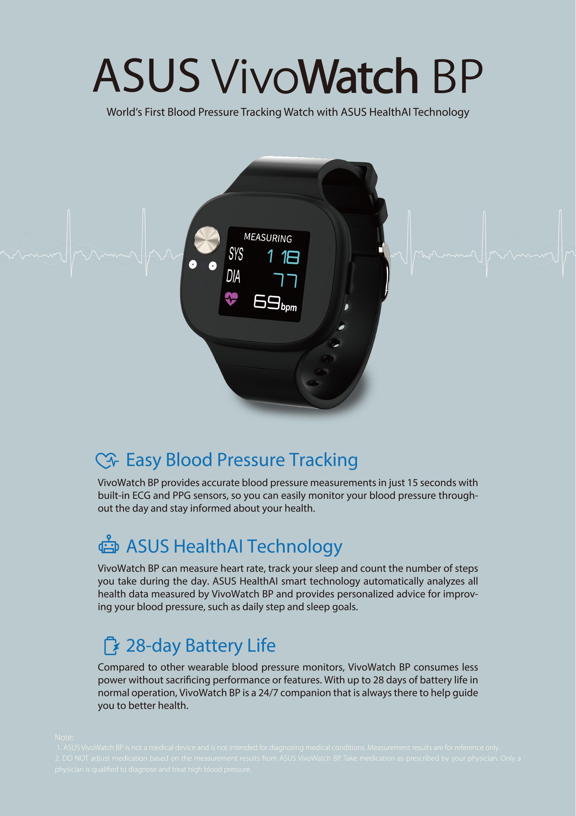 VivoWatch BP (HC-A04) | Health & Fitness | ASUS USA
