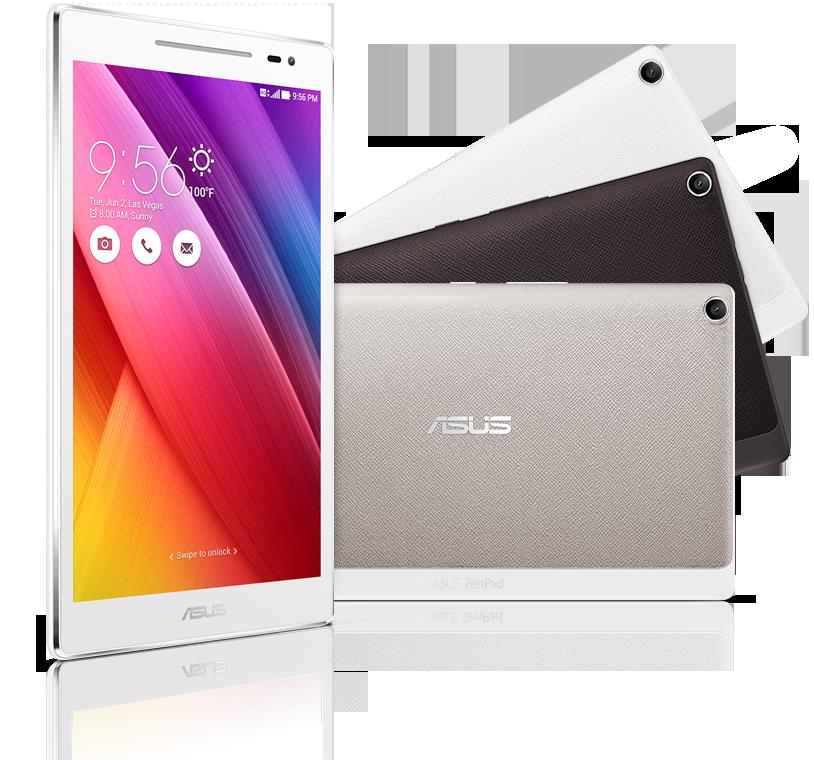 ZenPad 8.0  Atom x3-C3200 1.1GHz 4コア,Snapdragon 410 MSM8916 1.2GHz 4コア