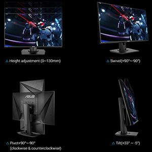 VG279Q | Monitors | ASUS USA