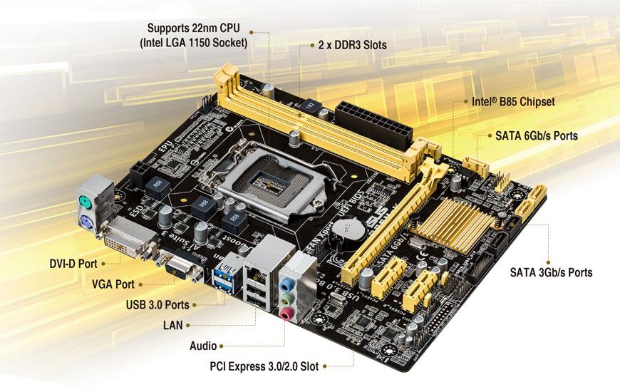 ASUS B85M-K Windows Vista 32-BIT