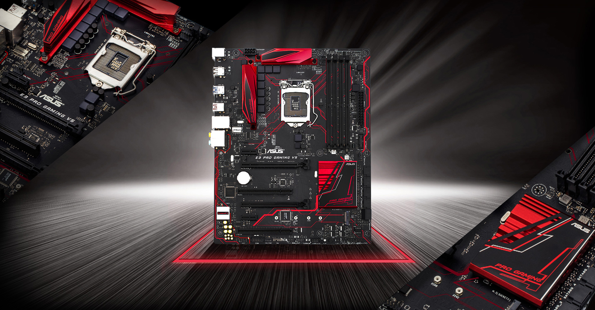 E3 PRO GAMING V5 | Motherboards | ASUS USA