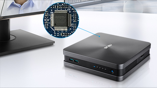 VivoMini VC68V-Mini PC- Windows 10, Intel i7- 4K - Skype-Konferenz