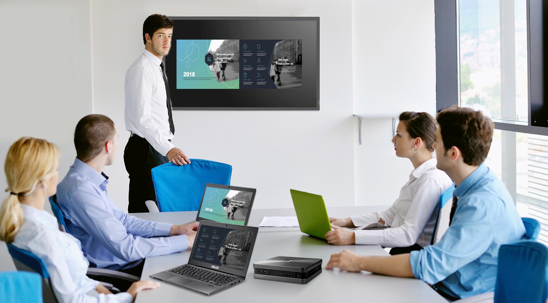 VivoMini VC68V-Mini PC-Konferenz-Intel Unite