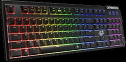 لوحة المفاتيح Cerberus Mech RGB