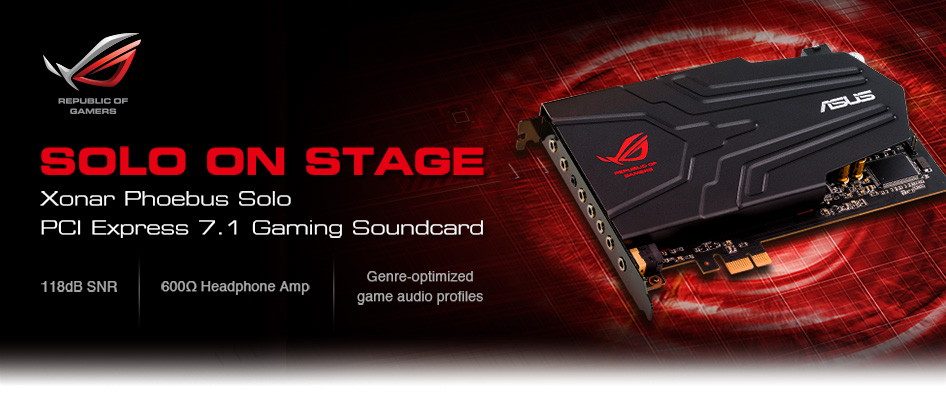 ASUS ROG Xonar Phoebus Audio Driver for Mac Download