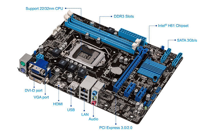 Asus P8H61-I Intel VGA Driver for Windows 8