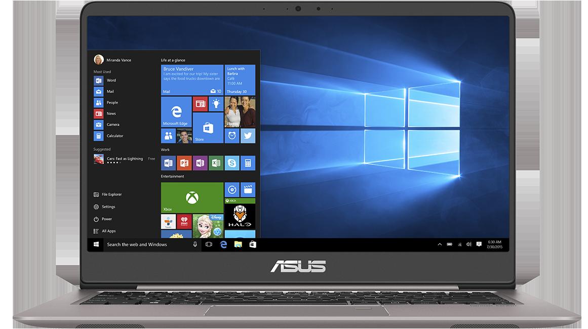 Asus Zenbook Ux410uf Laptops Asus Global
