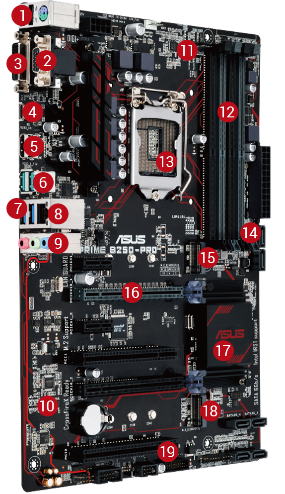 PRIME B250-PRO | Motherboards | ASUS USA