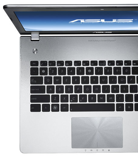 ASUS N seires with Palm Proof technology