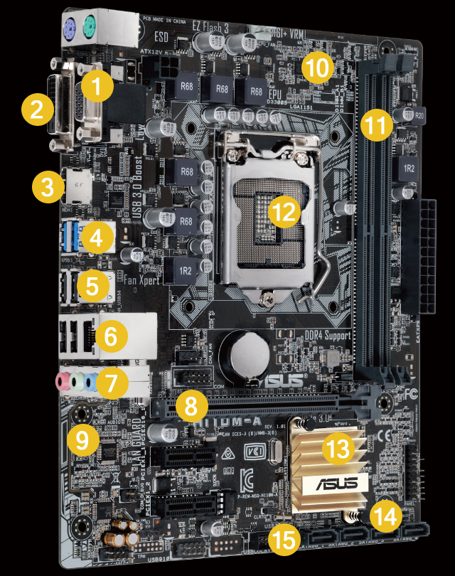H110M-A | Motherboards | ASUS Global