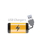 USB Charger+ quickly charges