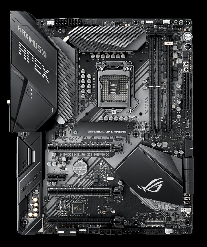 ROG MAXIMUS XI APEX   Motherboards   ASUS USA
