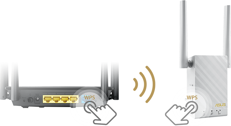 Asus RP-AC55 Wireless-AC1200 dual-band repeater for easy setup 3