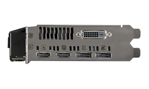 ASUS Radeon RX 580 O4G Dual-Fan OC Edition GDDR5 DP HDMI DVI VR Ready AMD Graphics Card DUAL-RX580-O4G