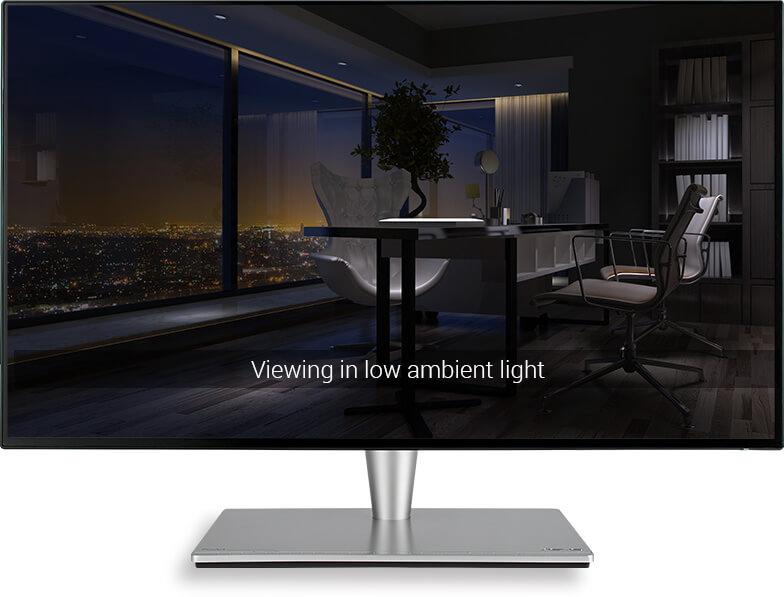 Der ASUS-Blue-Light-Filter schützt den Anwender vor schädlichem blauen Licht.