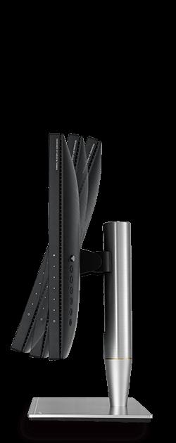 Der ProArt PA27AC ist mit einem schlanken Profil und einem ergonomisch gestalteten Standfuß ausgestattet, der geneigt, gedreht, geschwenkt und in der Höhe verstellt werden kann. Der Bildschirm kann daher jederzeit und mit wenigen Handgriffen optimal ausgerichtet werden.