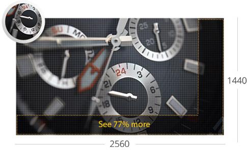 ASUS VZ27AQ Eye Care Monitor - 27 inch WQHD, IPS, Ultra-slim, Frameless
