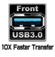 Front USB 3.0