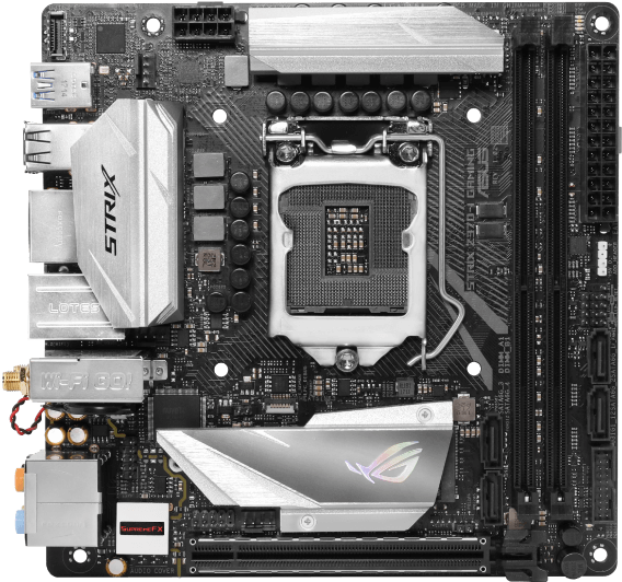 ROG STRIX Z370-I GAMING Motherboards - Best Motherboards for Core i7-8700k