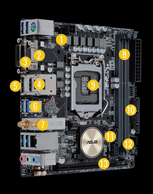 ASUS H170I-PRO Intel LAN Descargar Controlador