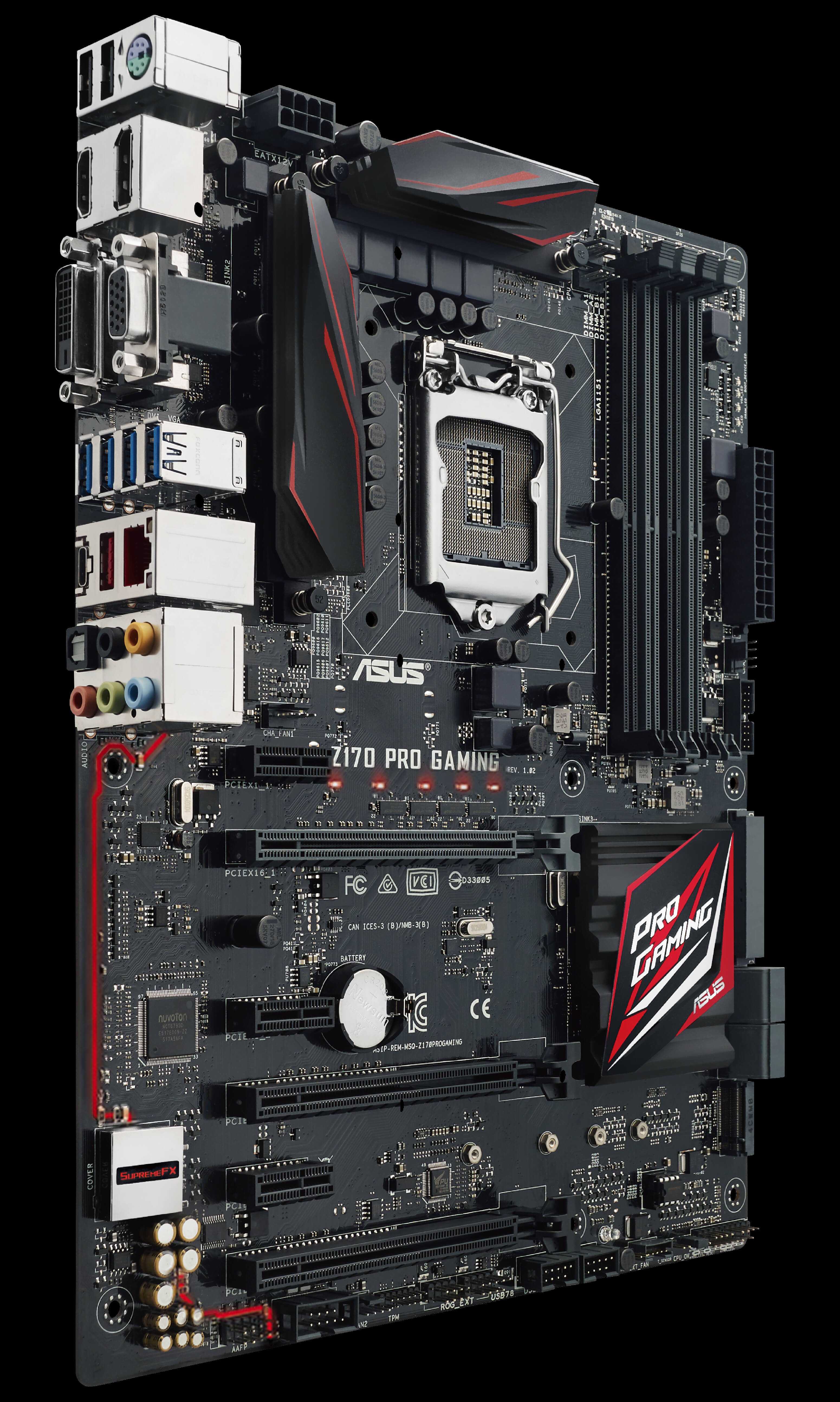 Z170 Pro Gaming Motherboards Asus Usa