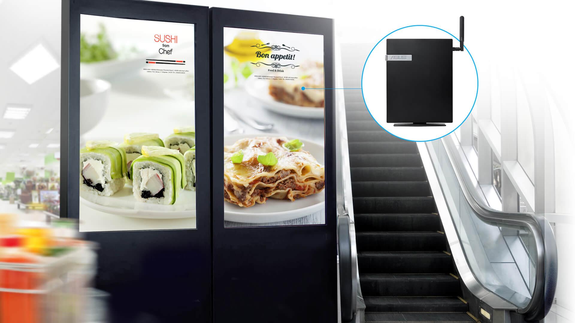 ASUSPRO E420-Mini PC-Digital signage