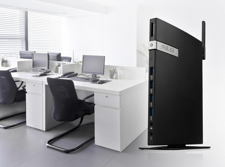 ASUSPRO E420-Mini PC- M.2 SSD-HDD -upgrade