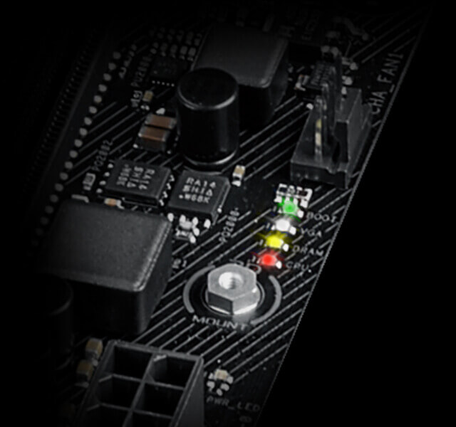 B350-F Motherboard GTX light stays on, no POST | Tom's