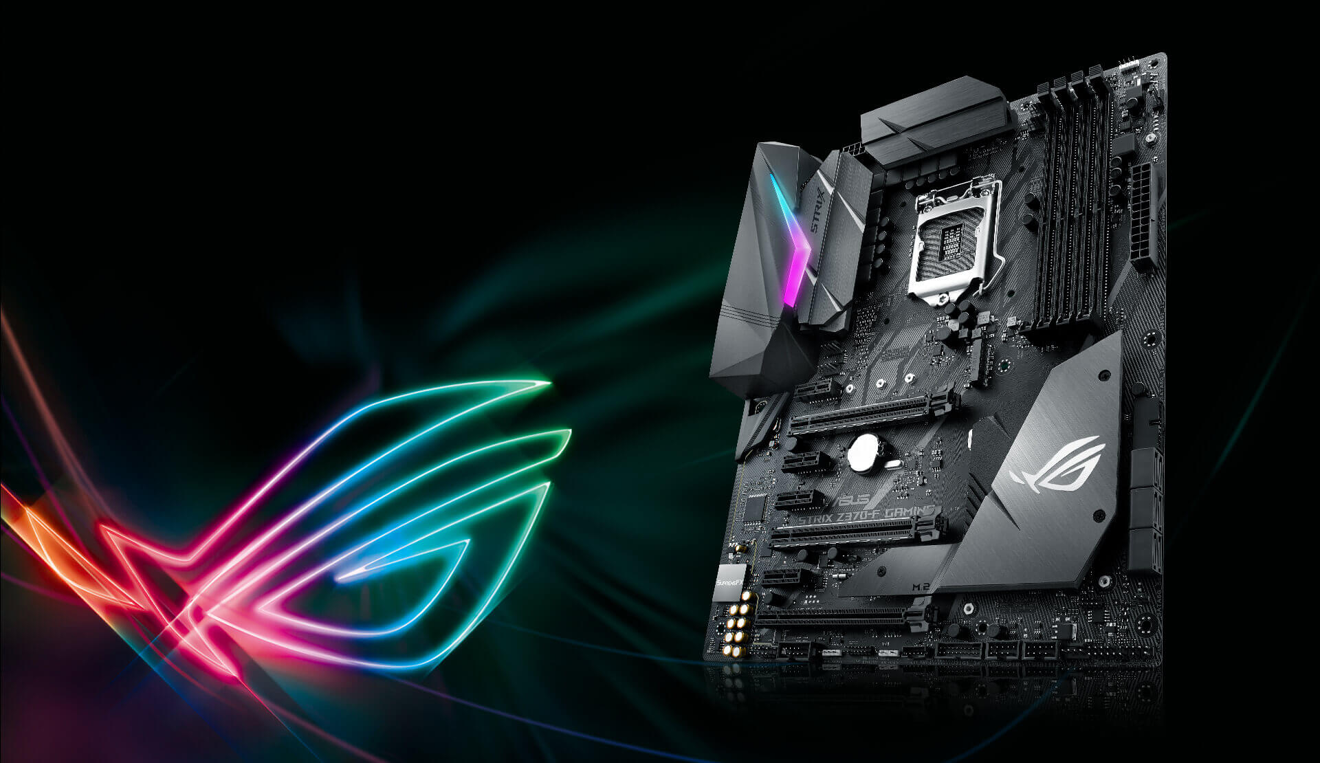 Rog strix z370 f gaming schede madri asus italia