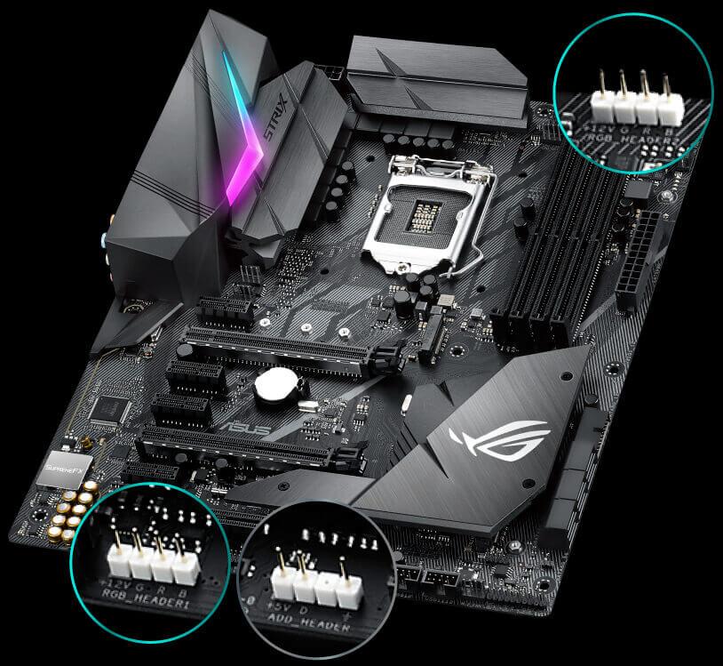 Connecteur RGB