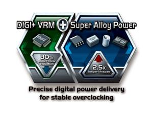 Система питания DIGI+ и компоненты Super Alloy Power