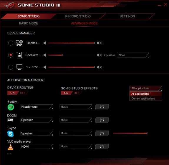ROG GR8 II-Mini gaming pc-Audio