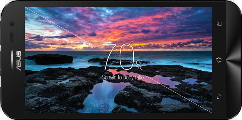 """Zenfone 2 Laser 5.0 ZE500KL, Smartphone 4G Android 5"""" Terbaik dari ASUS"""