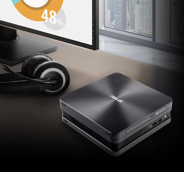 VivoMini VC65-C-Mini PC- windows 10, intel i7- 4k - conference-skype