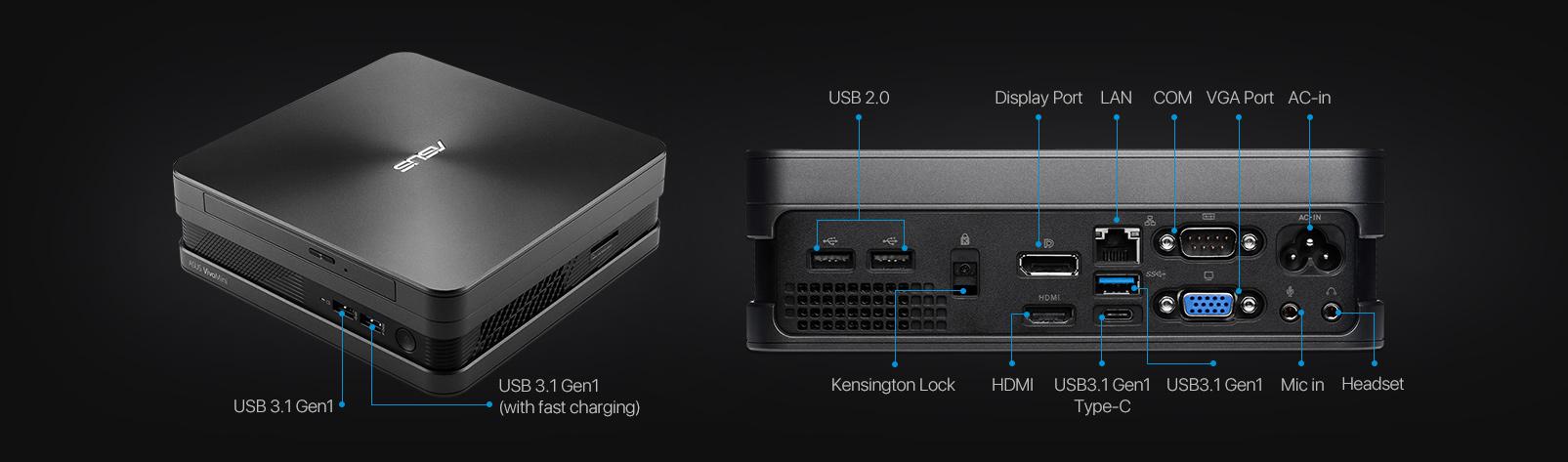 VivoMini VC65-C-Mini PC- hdmi-4K- best mini pc for tv