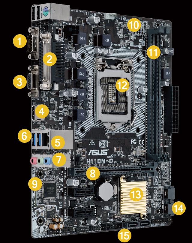 Linh kiện Vi Tính Mainboard,vga,Nguồn,CPU,ram,LCD...... - 7