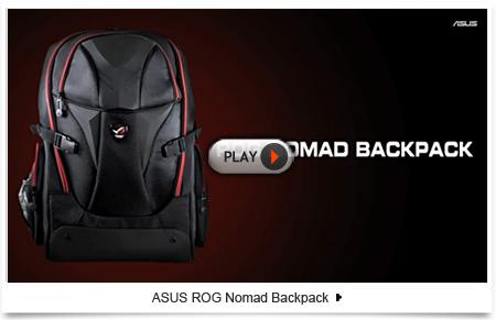 new asus rog nomad 2 17 backpack black notebook laptop case bag 90xb0160 bbp000 ebay. Black Bedroom Furniture Sets. Home Design Ideas