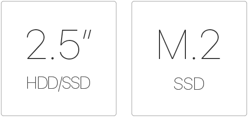 asus vivo dualbay- dual storage