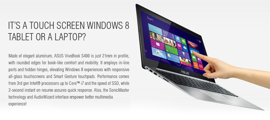 Precision touchscreen for Windows 8 enjoyment