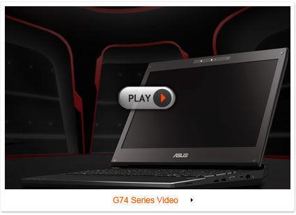 ASUS ROG G74 Gaming Notebook Video