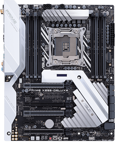 ASUS PRIME X299-DELUXE BIOS firmware chip